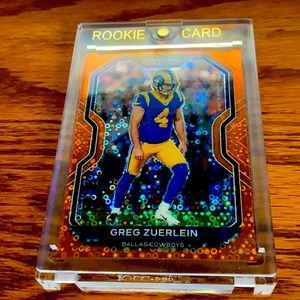 Greg zuerlein panini prizm football card
